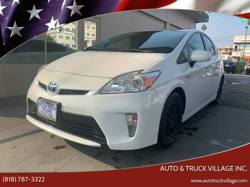 2013 Toyota Prius for sale at Auto & Truck Village Inc. in Van Nuys CA