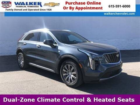 2019 Cadillac XT4 for sale at WALKER CHEVROLET in Franklin TN