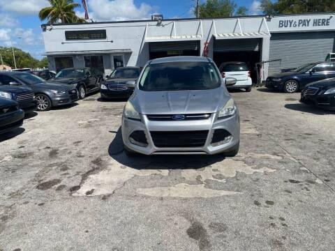 2013 Ford Escape for sale at America Auto Wholesale Inc in Miami FL