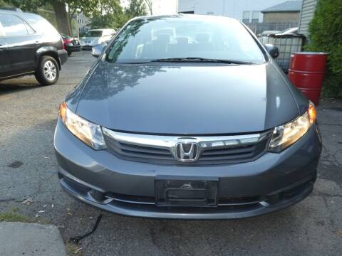 2012 Honda Civic for sale at Wheels and Deals in Springfield MA
