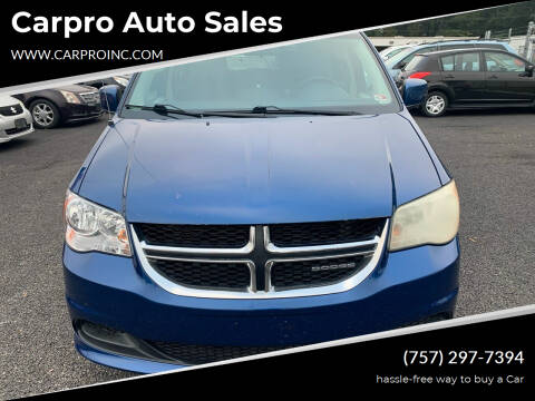 2011 Dodge Grand Caravan for sale at Carpro Auto Sales in Chesapeake VA