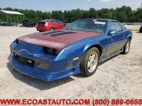 1991 Chevrolet Camaro for sale at East Coast Auto Source Inc. in Bedford VA