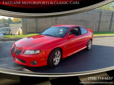 2004 Pontiac GTO for sale at Fastlane Motorsports & Classic Cars in Addison IL