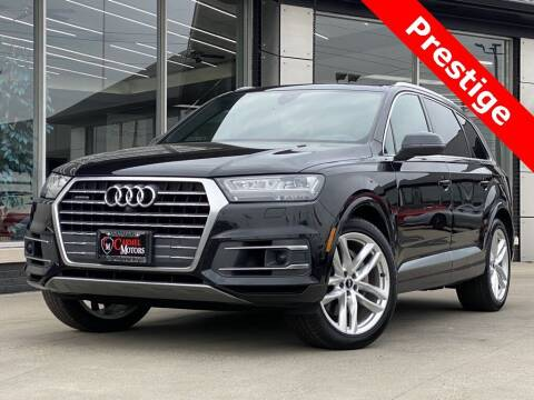 2018 Audi Q7 for sale at Carmel Motors in Indianapolis IN