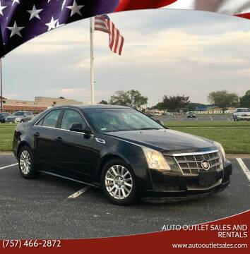 2010 Cadillac CTS for sale at Auto Outlet Sales and Rentals in Norfolk VA