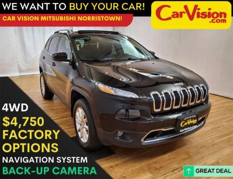 2017 Jeep Cherokee for sale at Car Vision Mitsubishi Norristown in Trooper PA