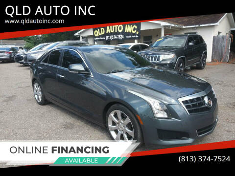 2013 Cadillac ATS for sale at QLD AUTO INC in Tampa FL