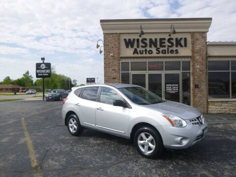 2012 Nissan Rogue for sale at Wisneski Auto Sales, Inc. in Green Bay WI