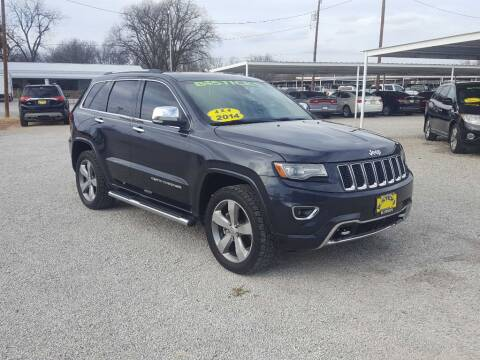2014 Jeep Grand Cherokee for sale at Bostick's Auto & Truck Sales in Brownwood TX