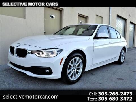 2018 BMW 3 Series for sale at Selective Motor Cars in Miami FL