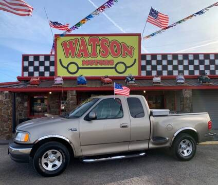 2002 Ford F-150 for sale at Watson Motors in Poteau OK