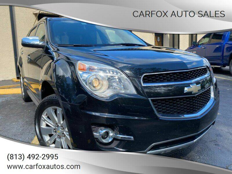 2010 Chevrolet Equinox for sale at Carfox Auto Sales in Tampa FL