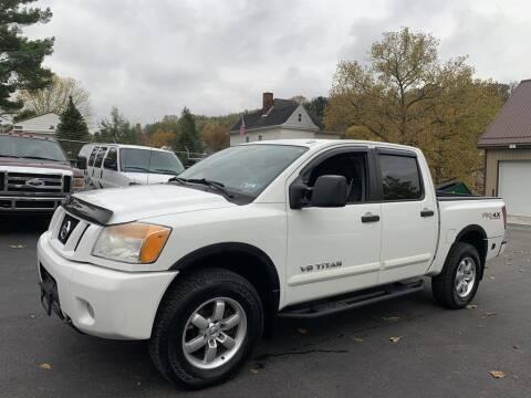 2011 Nissan Titan for sale at Premiere Auto Sales in Washington PA