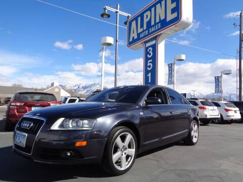 2008 Audi A6 for sale at Alpine Auto Sales in Salt Lake City UT