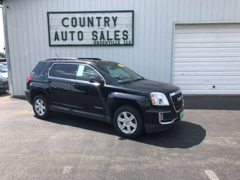 2016 GMC Terrain for sale at COUNTRY AUTO SALES LLC in Greenville OH