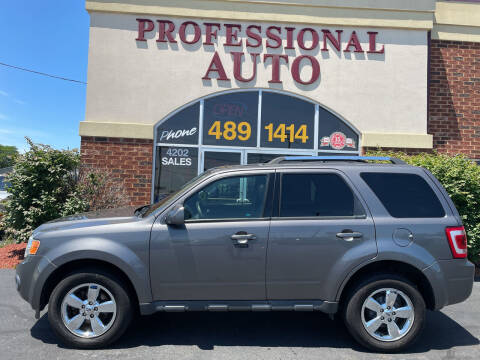 2010 Ford Escape for sale at Professional Auto Sales & Service in Fort Wayne IN