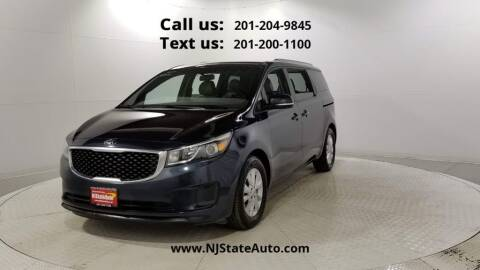 2017 Kia Sedona for sale at NJ State Auto Used Cars in Jersey City NJ