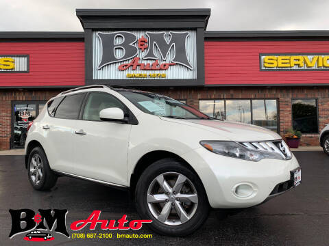 2010 Nissan Murano for sale at B & M Auto Sales Inc. in Oak Forest IL