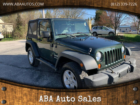 2010 Jeep Wrangler for sale at ABA Auto Sales in Bloomington IN