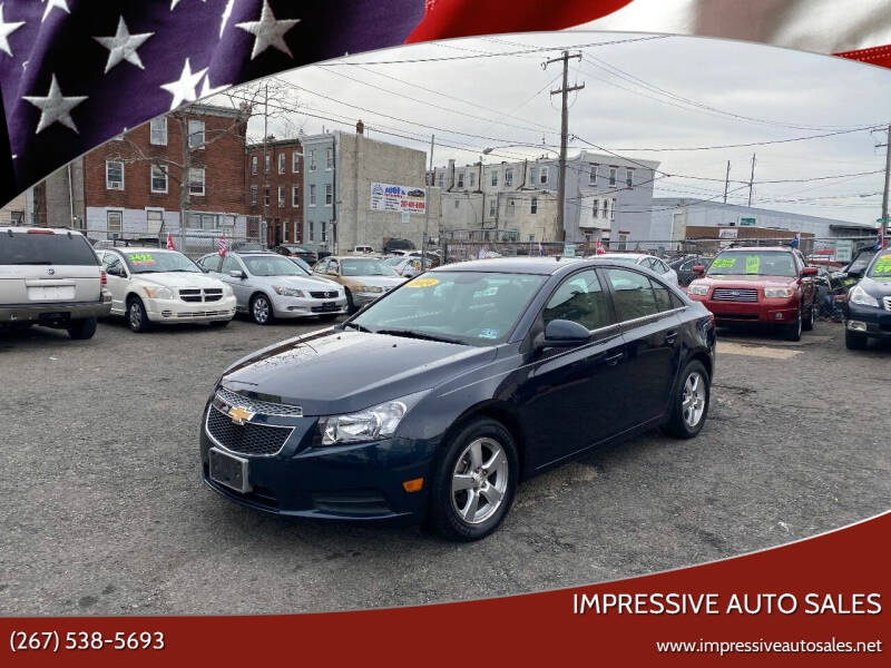 2014 Chevrolet Cruze for sale at Impressive Auto Sales in Philadelphia PA