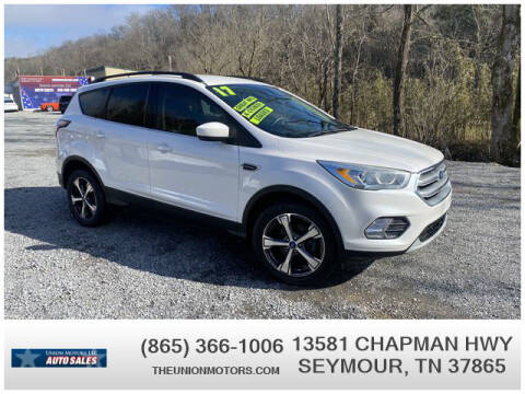 2017 Ford Escape for sale at Union Motors in Seymour TN