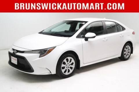 2020 Toyota Corolla for sale at Brunswick Auto Mart in Brunswick OH