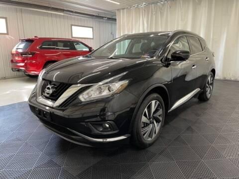 2016 Nissan Murano for sale at Monster Motors in Michigan Center MI