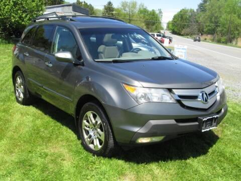 2008 Acura MDX for sale at Saratoga Motors in Gansevoort NY