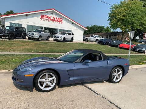 2012 Chevrolet Corvette for sale at Efkamp Auto Sales LLC in Des Moines IA