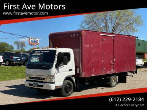 2008 Mitsubishi Fuso FE84D for sale at First Ave Motors in Shakopee MN