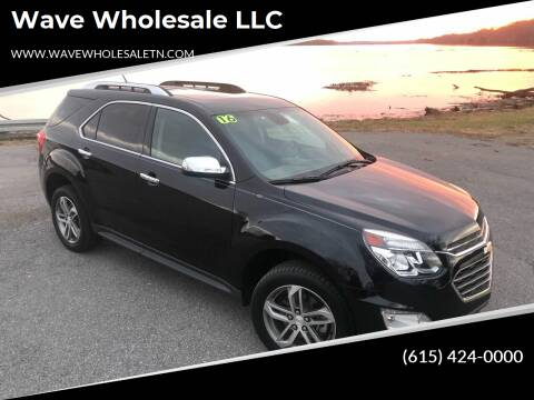 2016 Chevrolet Equinox for sale at Wave Wholesale LLC in Gallatin TN