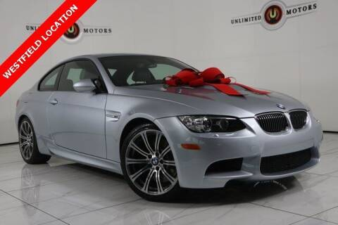 2009 BMW M3 for sale at INDY'S UNLIMITED MOTORS - UNLIMITED MOTORS in Westfield IN
