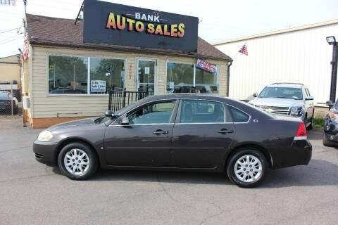 2008 Chevrolet Impala for sale at BANK AUTO SALES in Wayne MI