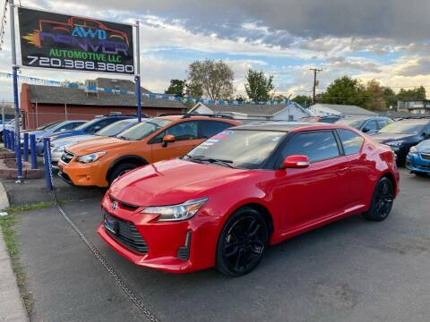 2015 Scion tC for sale at AWD Denver Automotive LLC in Englewood CO