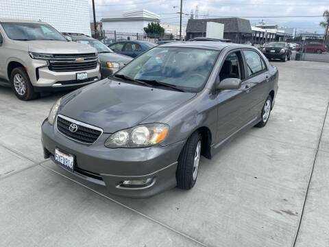2007 Toyota Corolla for sale at Galaxy of Cars in North Hollywood CA