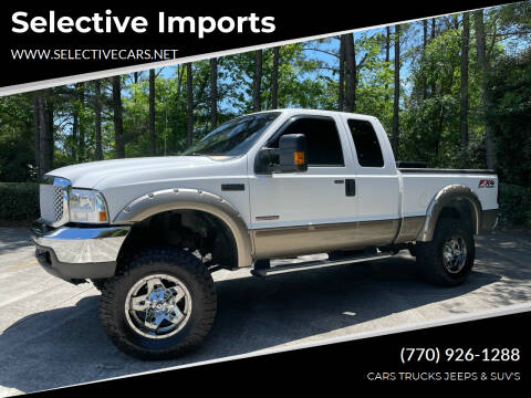 2004 Ford F-250 Super Duty for sale at Selective Imports in Woodstock GA