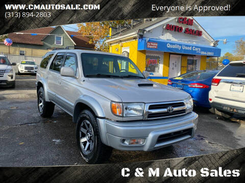 2000 Toyota 4Runner for sale at C & M Auto Sales in Detroit MI