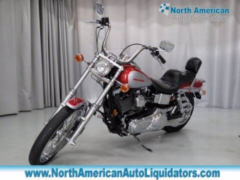 1999 HARLEY DAVIDSON DYNA WIDE GLIDE for sale at North American Auto Liquidators in Essington PA