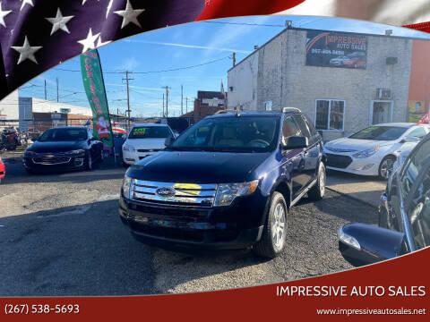 2010 Ford Edge for sale at Impressive Auto Sales in Philadelphia PA