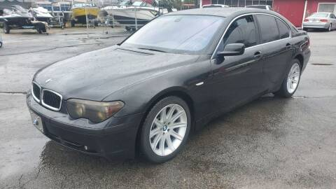 2002 BMW 7 Series for sale at GA Auto IMPORTS  LLC in Buford GA