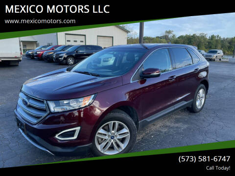 2017 Ford Edge for sale at MEXICO MOTORS LLC in Mexico MO