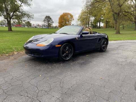 2001 Porsche Boxster for sale at Moundbuilders Motor Group in Heath OH