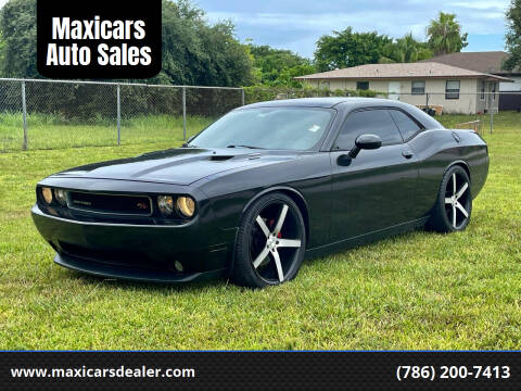 2011 Dodge Challenger for sale at Maxicars Auto Sales in West Park FL