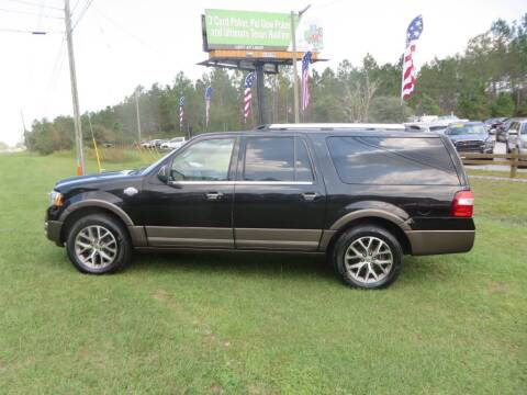 2015 Ford Expedition EL for sale at Ward's Motorsports in Pensacola FL