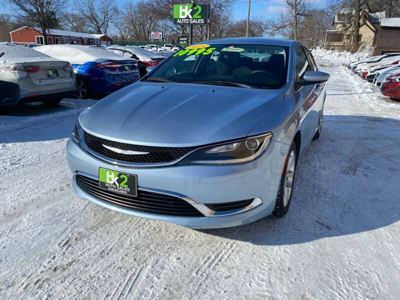 2015 Chrysler 200 for sale at BK2 Auto Sales in Beloit WI