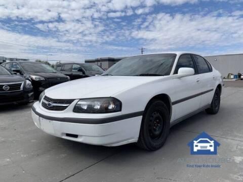 2003 Chevrolet Impala for sale at AUTO HOUSE TEMPE in Tempe AZ