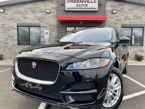 2020 Jaguar F-PACE for sale at GREENVILLE AUTO & RV in Greenville WI