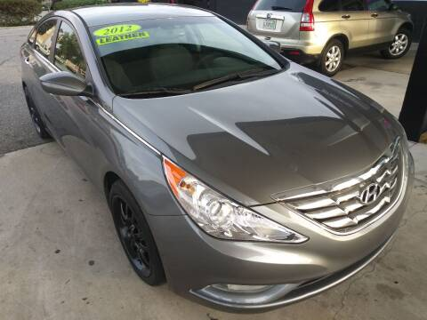 2012 Hyundai Sonata for sale at HCC AUTO SALES INC in Sarasota FL