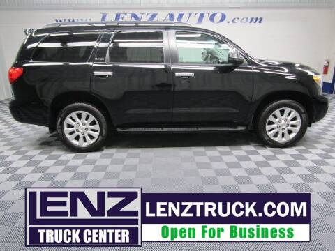 2010 Toyota Sequoia for sale at LENZ TRUCK CENTER in Fond Du Lac WI