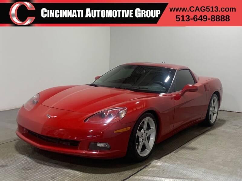 2005 Chevrolet Corvette for sale at Cincinnati Automotive Group in Lebanon OH